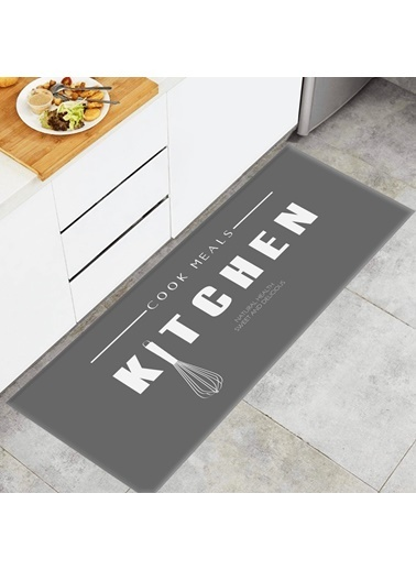 MarkaEv Kitchen 63 Mutfak Halısı Renkli
